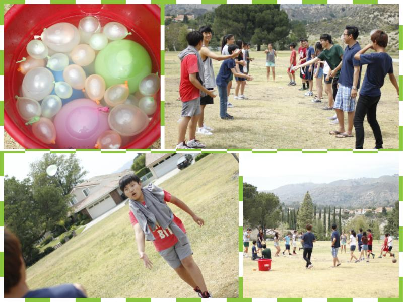 <p>Let the water balloon games begin! Activity #1: Water Balloon Toss Challenge</p>