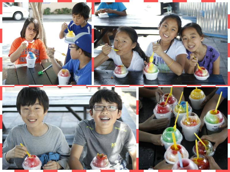 <p>Then we went to Get Shaved for some shaved ice!</p>