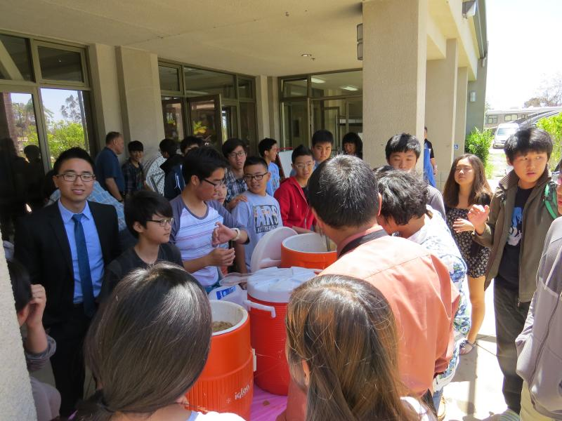 <p>Valley Chapel ICY was also very busy serving! Our Yummy Ice Coffee sold out like Hot Cakes!&nbsp;</p>