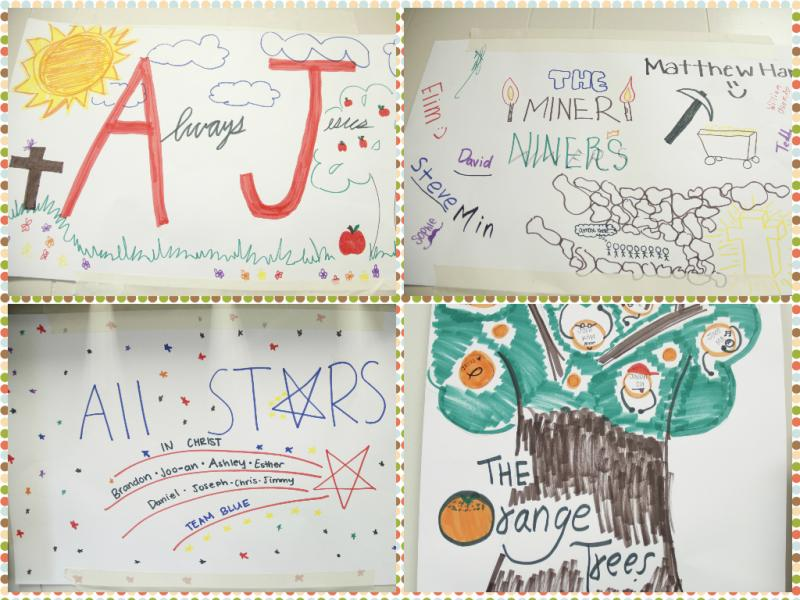 <p>Yay Team AJ, The Miner Niners, All Stars, and The Orange Tree!</p>