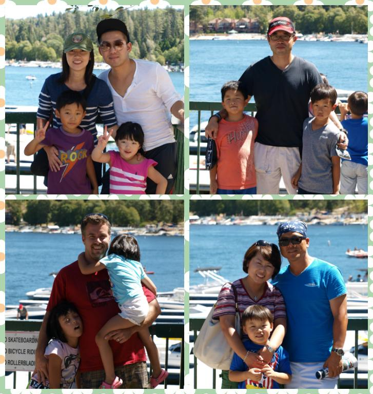 <p>Also, some of us went to Lake Arrowhead Village to hang out </p>