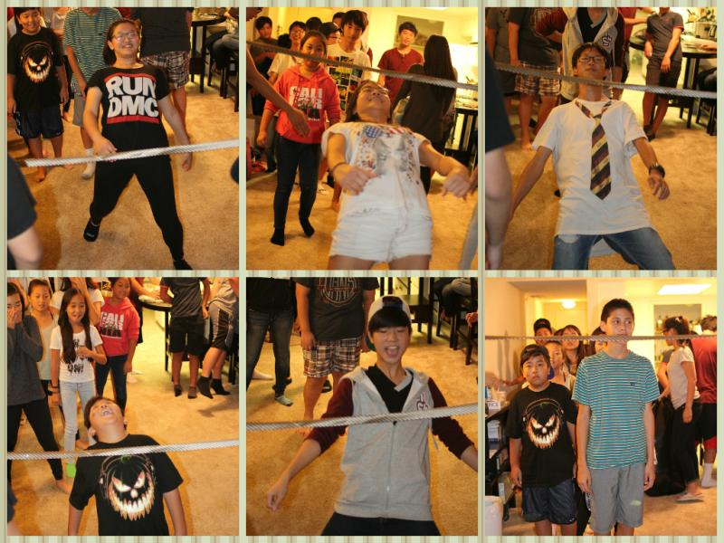 <p>We ended the night with a limbo contest!</p>