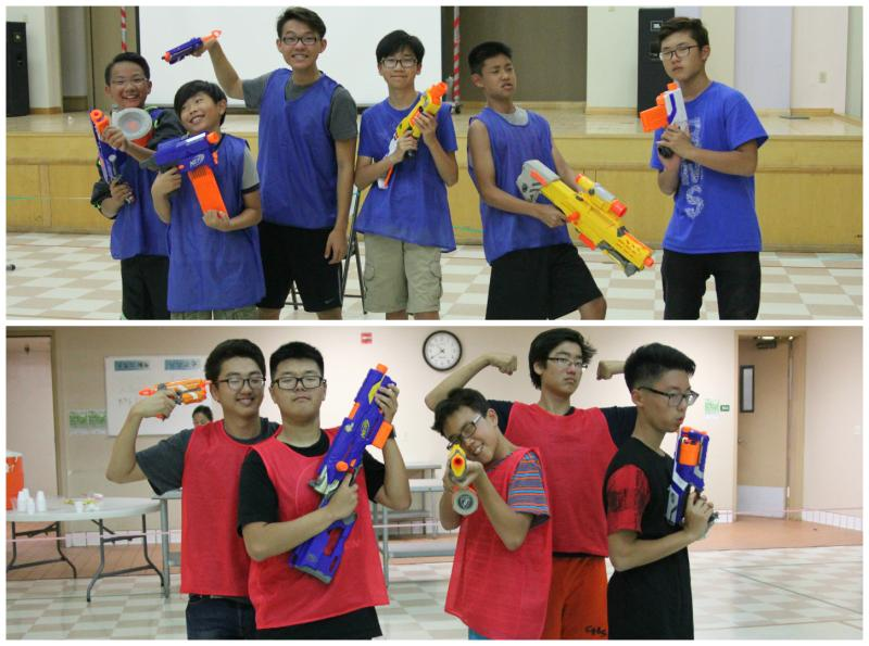 <p>Let the nerf-gun battle begin! </p>