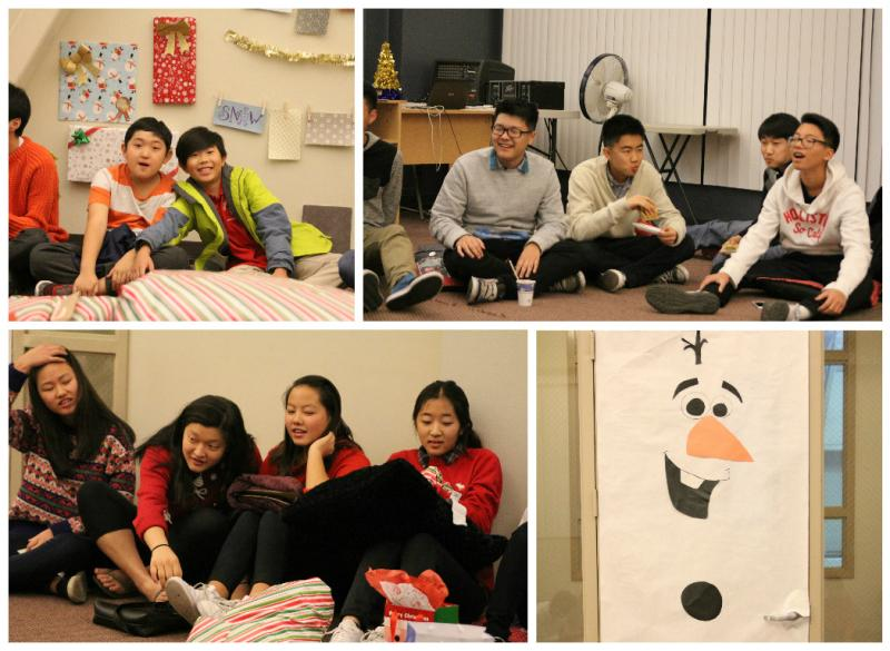 <p>We played the white elephant where we picked and stole gifts from each other.</p>