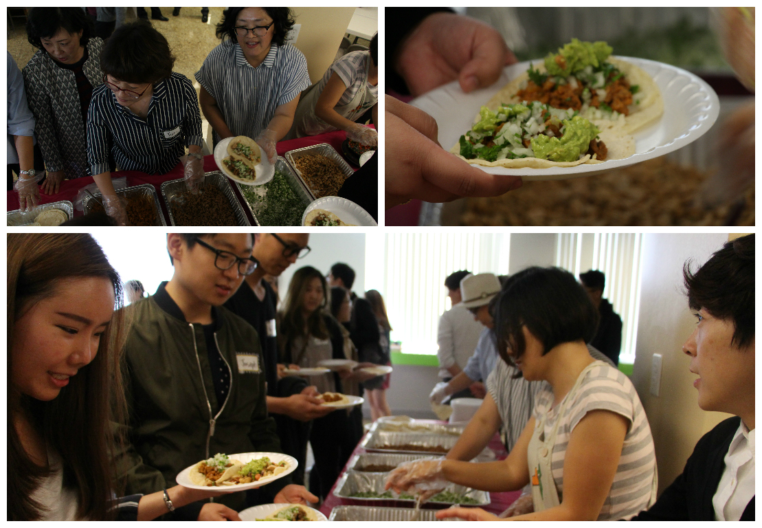 <p>Then, we ate super yummy, delicious tacos that our parents prepared for us. Thank you so much!</p>