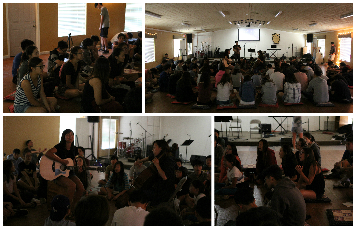 <p>For our morning service, we had an acoustic set. Though it wasn&#39;t as &quot;loud&quot; as a normal sesion, God continued to pour out His Spirit of worship upon us, and we continued to experience a heart of worship. God is good!</p>