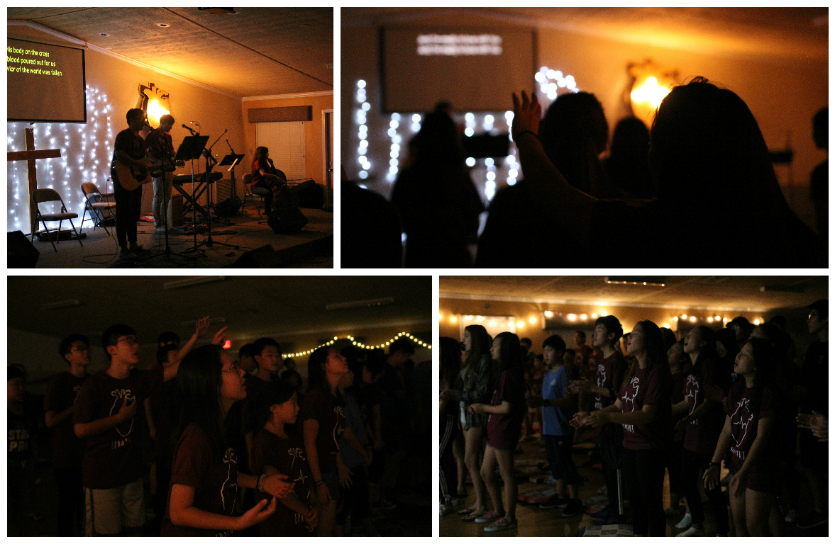 <p>We ended the evening session by offering up God our genuine heart of worship. Lord, this worship is unto You!</p>