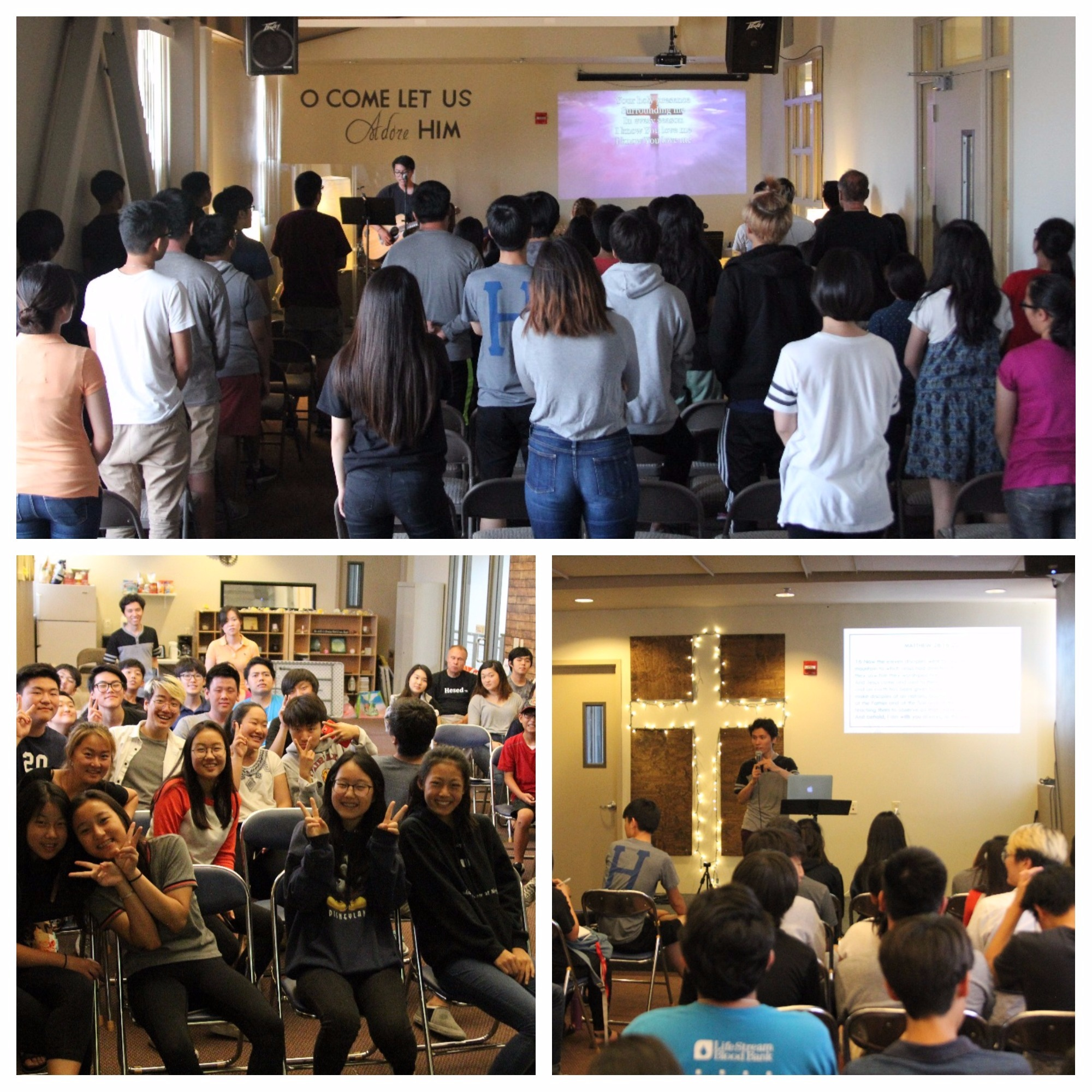 "<p>We started the day with a worship service where we packed in our hearts the first and most important ""item"" that we will take to the mission trip: the Gospel.</p>"